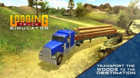 Logging Truck Simulator 3D – A PRO 18 Wheeler Transporter Truck Driver Simulation