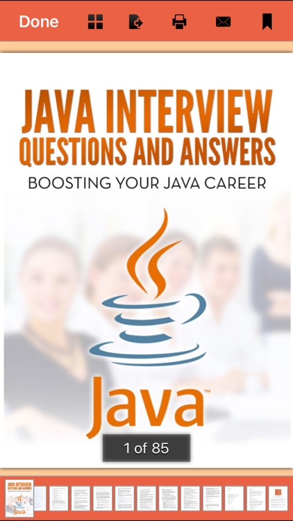 316 Java Interview Questions and Answers screenshot-0