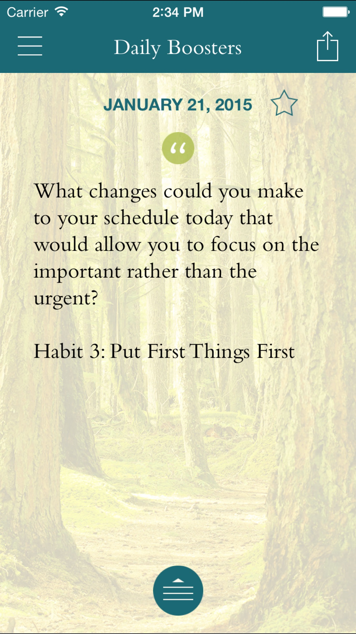 FranklinCovey Living the 7 Habits Screenshot