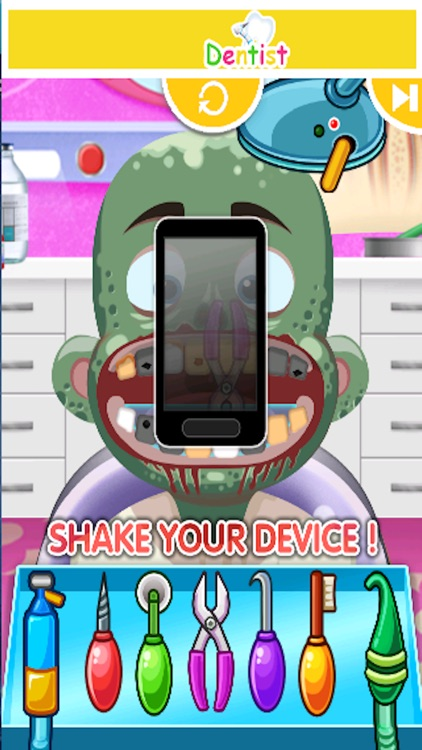 Little Dentist Clinic - kids teeth shave games for boys and girls screenshot-4
