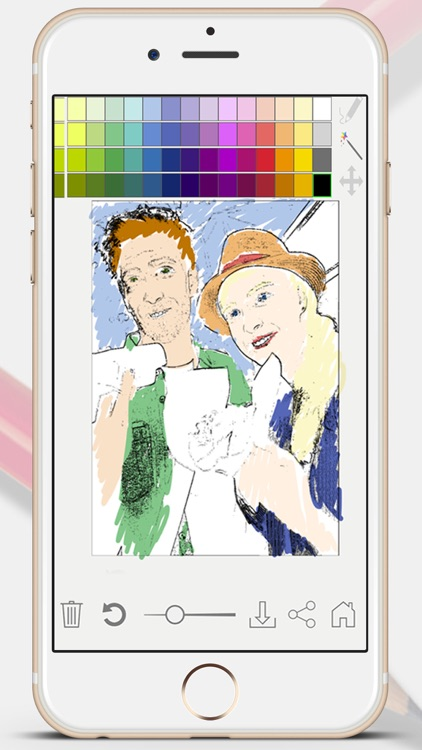 Sketch Photo Effect editor to color your images - Premium