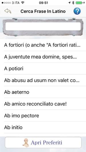 Frasi Latine La Frase In Latino Giusta Per Ogni Occasione Su App Store