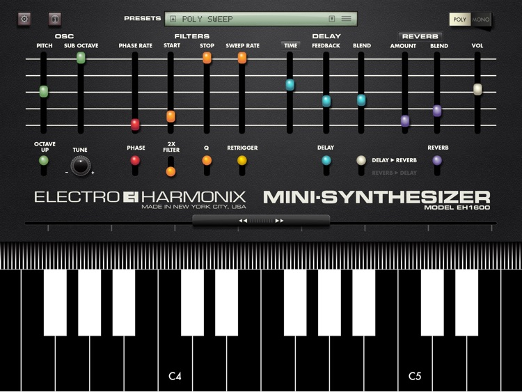 Mini Synthesizer screenshot-0