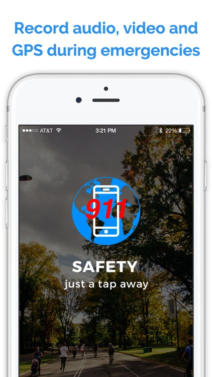 Planet 911 - Personal Safety, Security & Emergency Alert Tool - Instantly Record & Share Video Camera Messages and Audio Alerts to Your Contacts screenshot-1