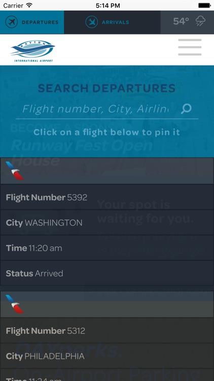 DAY Flights Tracker