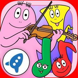 Barbapapa and the musical instruments