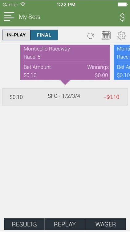 Interbets by Catskill OTB – horse racing betting screenshot-4
