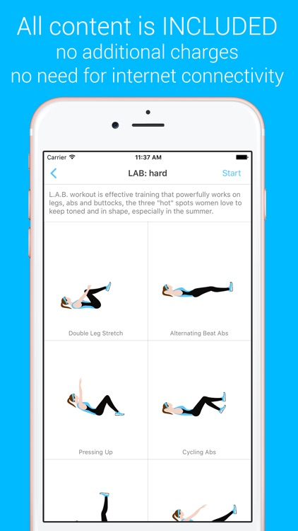 LAB Workout - LAB Workout - Your Personal Fitness Trainer for your legs, abs and buttocks screenshot-0