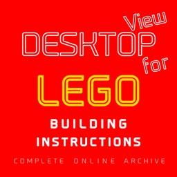 DESKTOP VIEW for LEGO BUILDING INSTRUCTIONS (Complete Lego Online Archive)