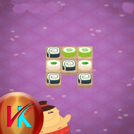 Hungry Sumo Match Puzzle iOS App