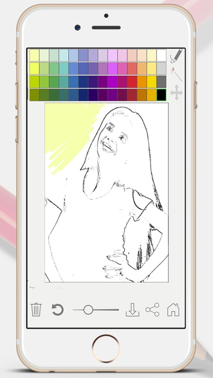 Sketch Photo Effect editor to color your images - Premium screenshot-3