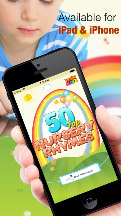 50 Top Kids Nursery Rhymes