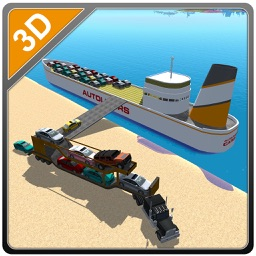 Cargo Ship Car Transporter – Drive truck & sail big boat in this simulator game