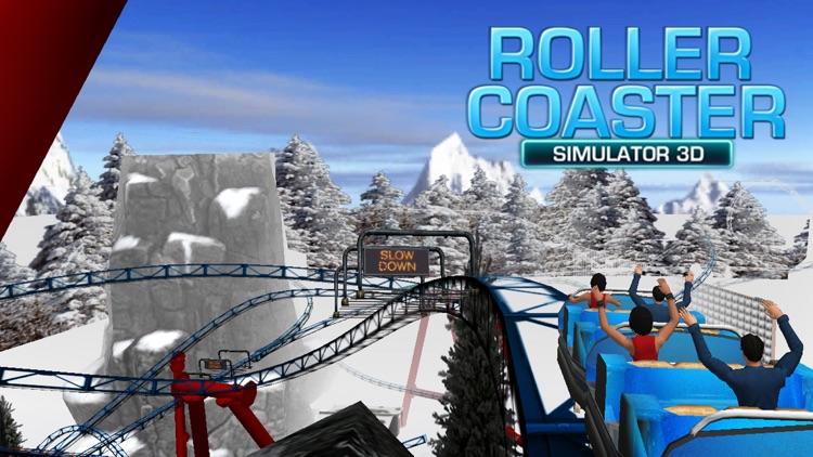 VR Roller Coaster Simulator 3d screenshot-3