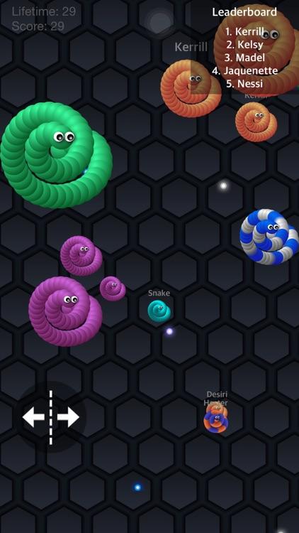 Snake.IO Game - All wings & unlocked skins version screenshot-3