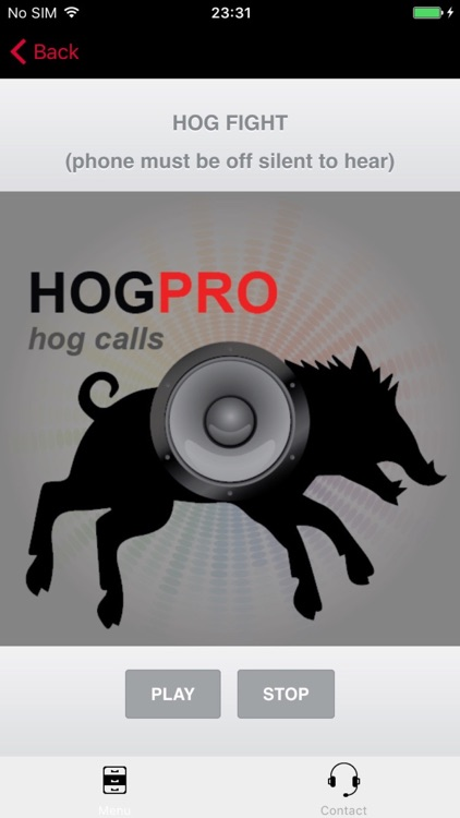 REAL Hog Calls - Hog Hunting Calls - Boar Calls screenshot-1