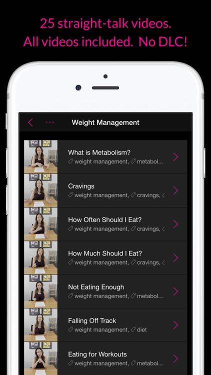 Nutrition Basics: Weight Management & Meal Planning screenshot-4