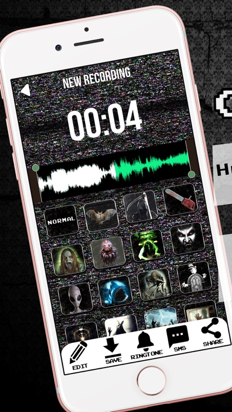 Scary Voice Changer Ringtone Maker – Best Horror Sounds Modifier With Special Effects