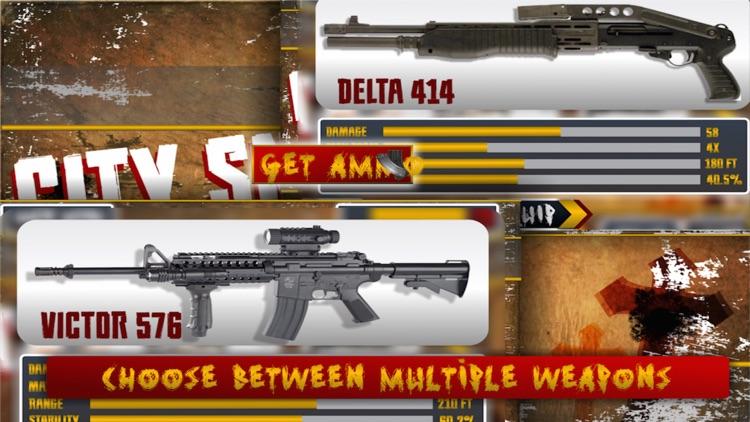 Elite Sniper City Defender Zombies Invasion screenshot-3