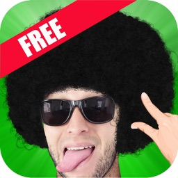 Afro Booth : Add Afro Style to photos