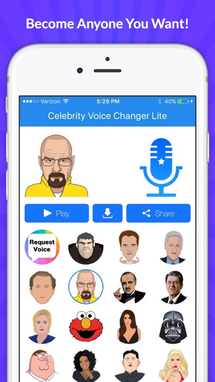 Celebrity Voice Changer - Funny Voice FX Soundboard Free
