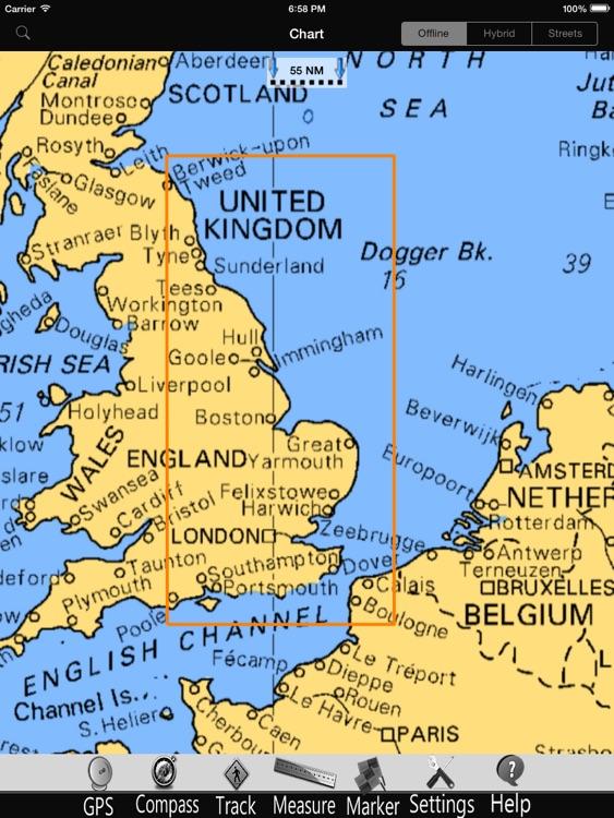 England E. Nautical Charts Pro screenshot-4