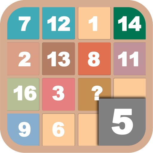 Math Game: The Magic Square (Ad Free)