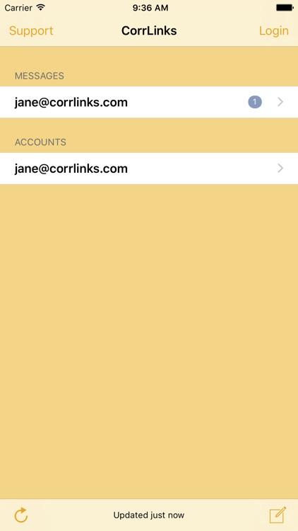 CorrLinks app image