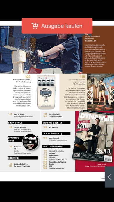DYNAMITE Magazin screenshot three