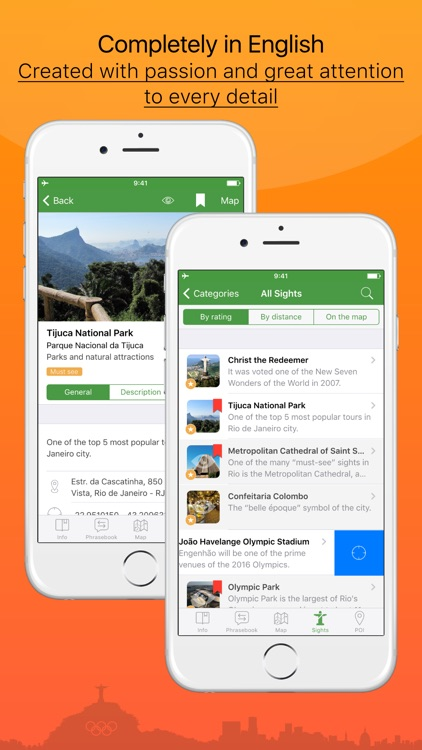 Rio de Janeiro – advanced tourist guide & offline map – Tournavigator screenshot-1
