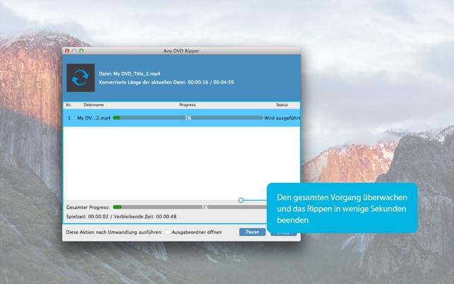 Any DVD Ripper-Rip DVD to MP4 Screenshot