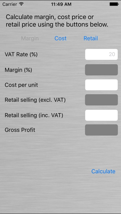 margin and markup calculator app price drops