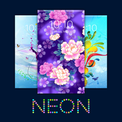 Neon Wallpapers Colorful Vibrant Backgrounds On The App Store