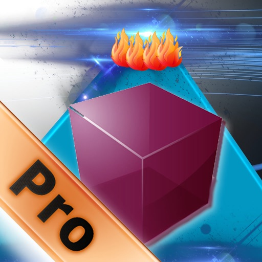Bouncing Cube Rush PRO - Geometry Shock Jump