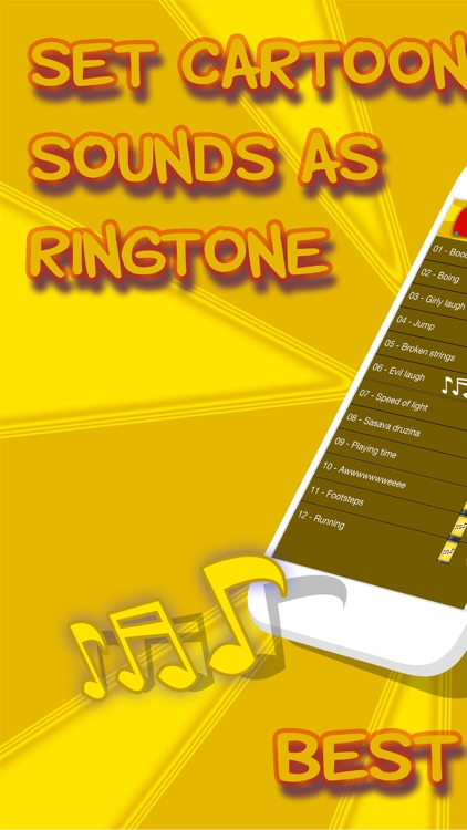 Cartoon Sound Effects and Noises – Best Free Alert Ringtone.s for iPhone