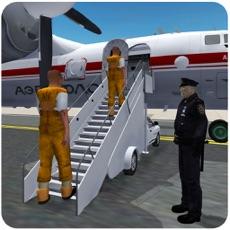 Activities of Jail Prisoners Airplane Transporter 3D – Criminal Flight Simulation Game