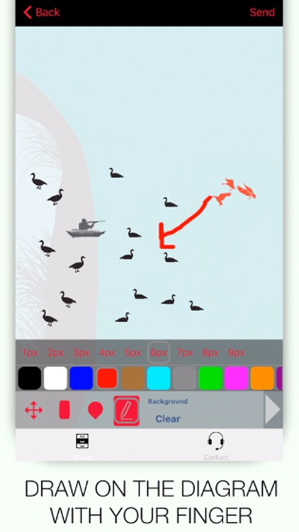 Specklebelly Goose Hunting Diagram Builder for Waterfowl Hunting screenshot-3