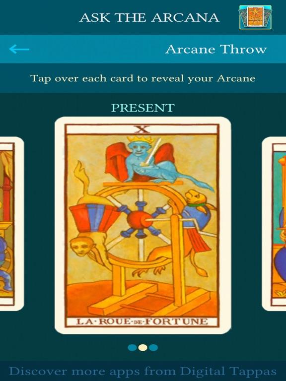 Ask the Arcana: Tarot telling | App Price Drops