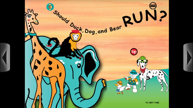 Duck, Dog & Bear Go to Africa screenshot-4