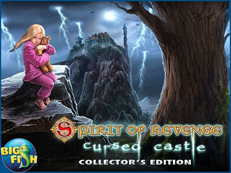 Spirit of Revenge: Cursed Castle HD - A Hidden Object Mystery Game screenshot-3