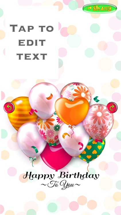 Happy Birthday Card Creator – Best Greeting e.Cards and Invitation.s Maker for your Bday Party screenshot-4