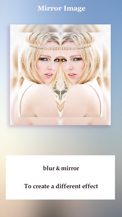 Mirror Image HD - Photo Mirror  and Photo Blur Effect
