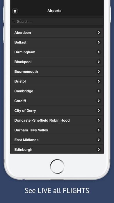 UK Tracker Free : Live flight status for Englandのスクリーンショット4