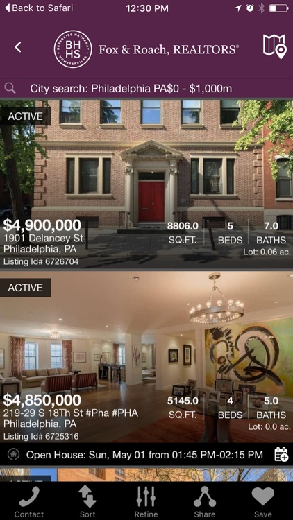 Philadelphia Real Estate Search