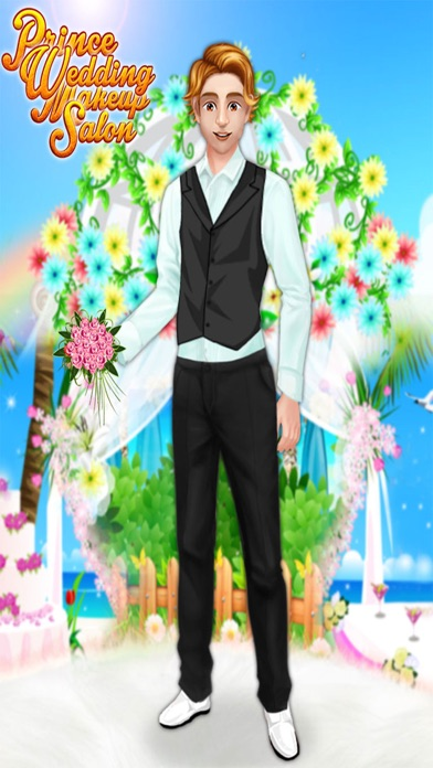 Prince Wedding Makeup Salon : marriage funciton game for kids & girl screenshot four