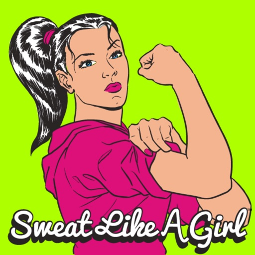 Sweat Like A Girl Mobile icon