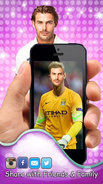 Iswap面臨著2016年歐元 - 更換或Modiface用最好的足球明星Player.s屏幕截圖5