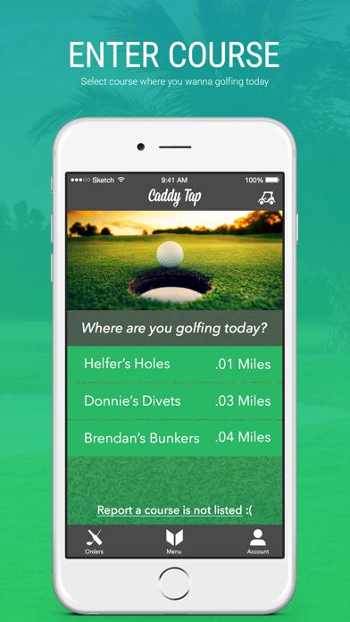 Caddy Tap (Golfer) screenshot two