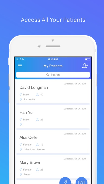 MedClipper – medical record clinic EMR mobile EHR screenshot-3