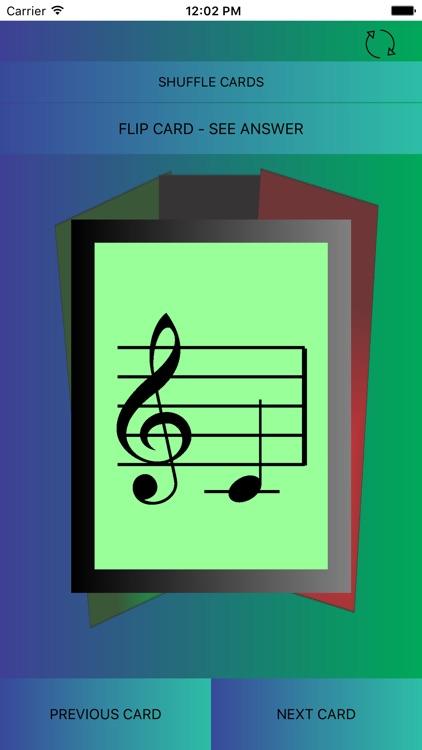 Music Flash Cards-Pro screenshot-3